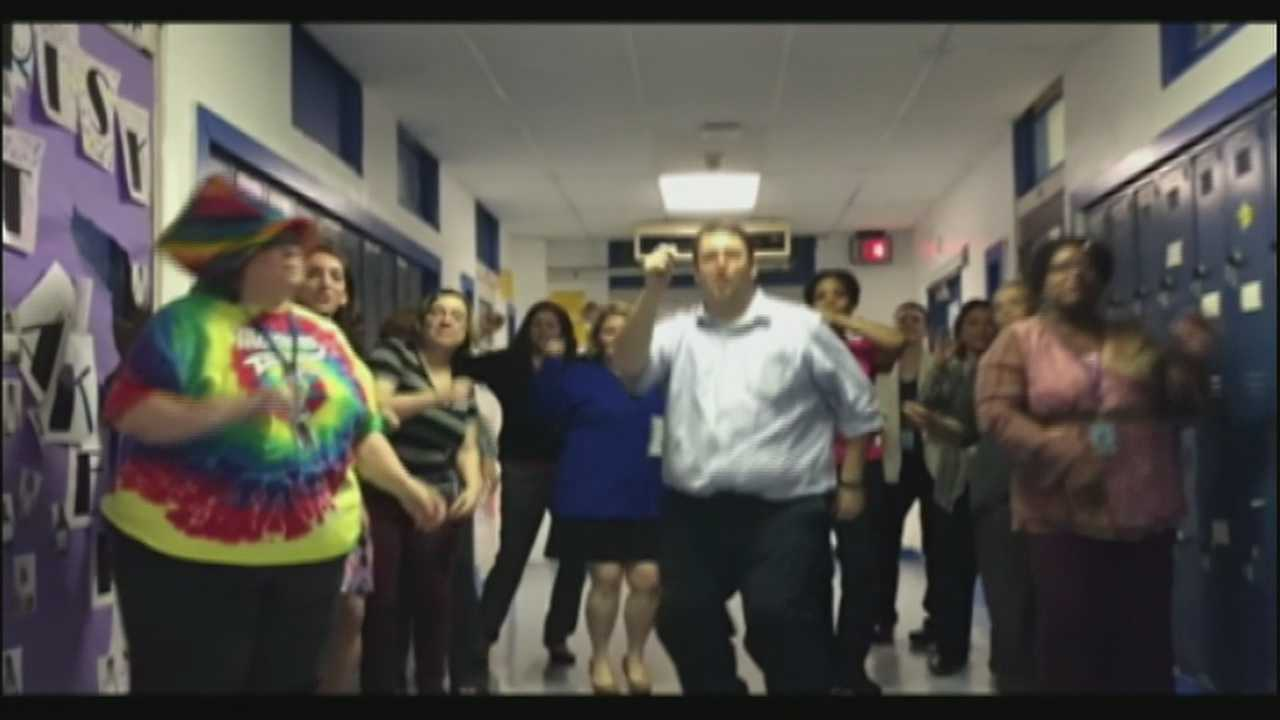 Teachers and administrators at Marrero Middle School made a video with inspirational messages and uploaded it onto YouTube.
