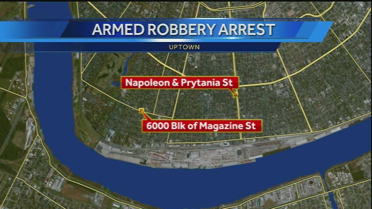 New Orleans police have arrested a 12-year-old boy in an armed robbery and attempted armed robbery.