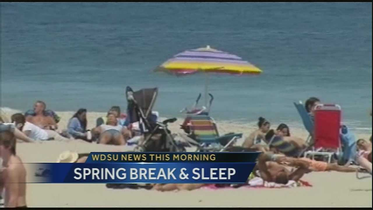 WDSU medical editor Dr. Corey Hebert goes over 5 things you can do to get more rest while you travel during spring break.
