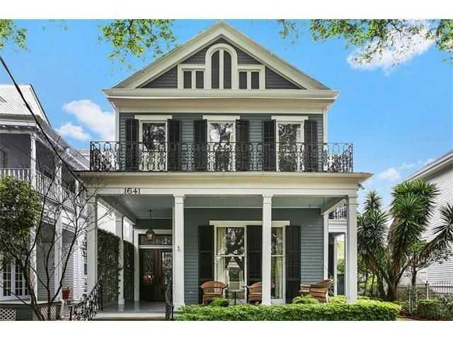This week's Mansion Monday takes us Uptown where a three-story Victorian home is on the market for $1,525,000. Contact Gardner Realtors for more information at 504-891-1142.