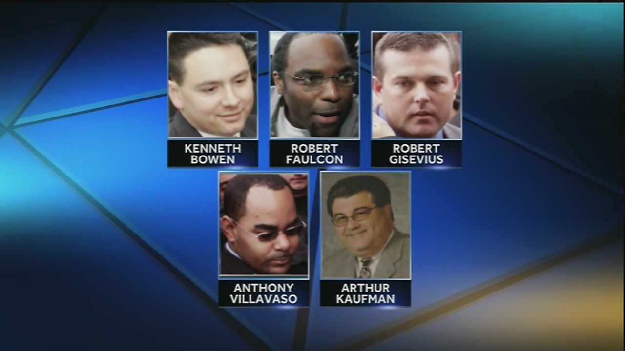 Five former New Orleans police officers will head back to federal court later this month for an April 29 hearing in connection to the Danziger Bridge shooting case.