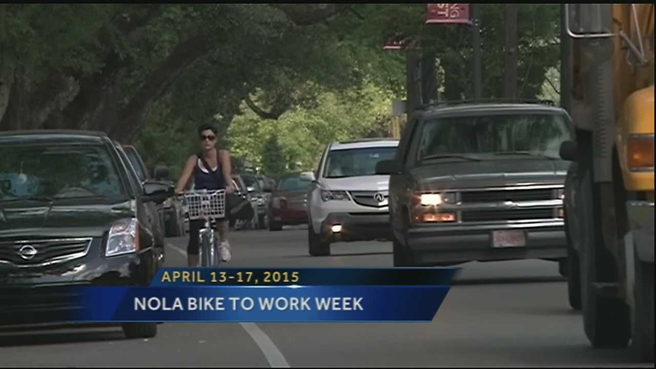 The Bike to Work Week initiative encourages people to leave their cars at home and ride their bikes to promote saving money, energy and the environment all while getting fit.