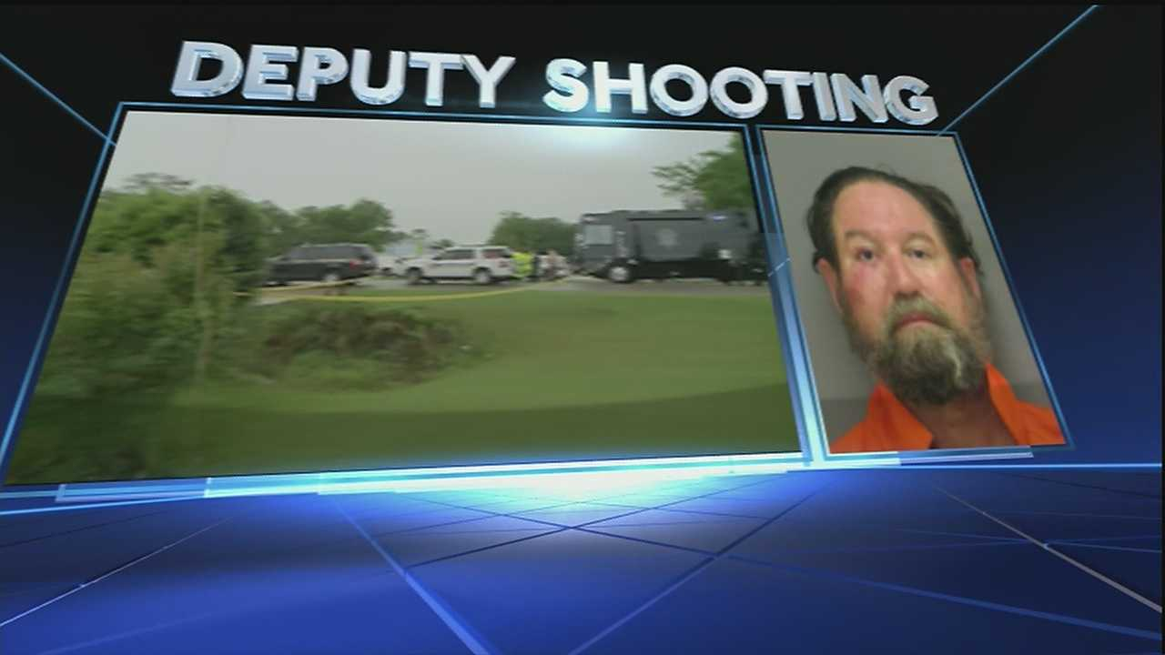 The man who authorities say shot a deputy in St. Charles Parish on Thursday morning, could be in court as early as Friday morning.