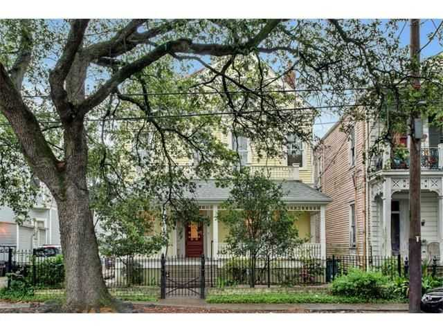 This week's Mansion Monday takes us to the Garden District, where a three-story home is on the market for $819,000. Contact Gardner Realtors for more information at 504-919-8585.