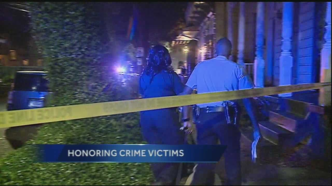 A number of events kick off Wednesday in honor of victims of crime in New Orleans.