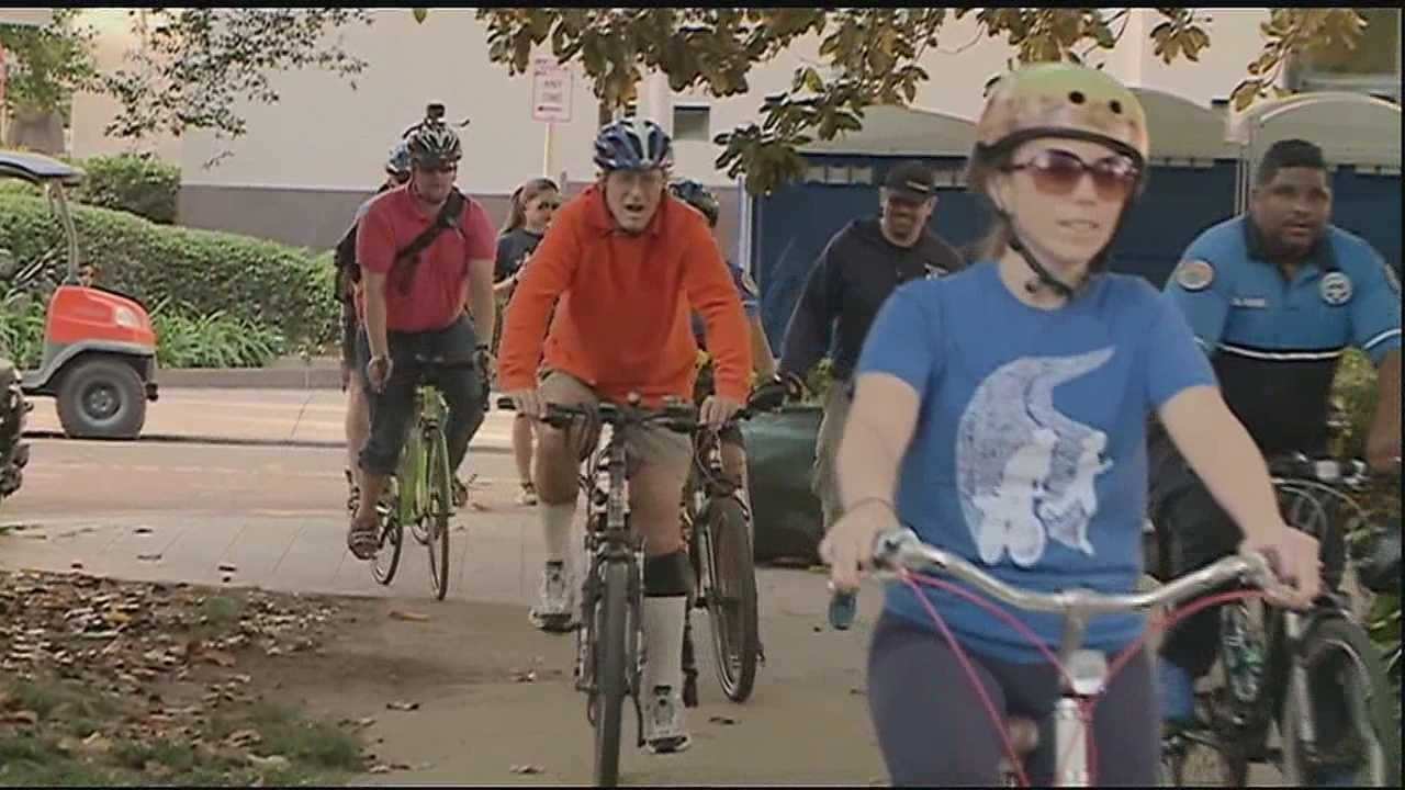 This week is the fourth annual Bike to Work Week in honor of going green and celebrating Earth Day.