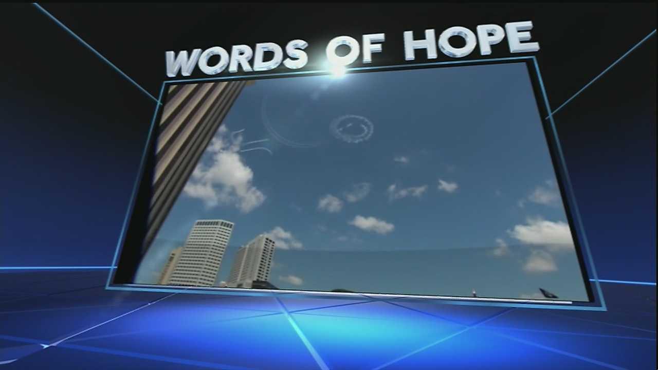 Adrianna Hopkins to man behind the sky writing.