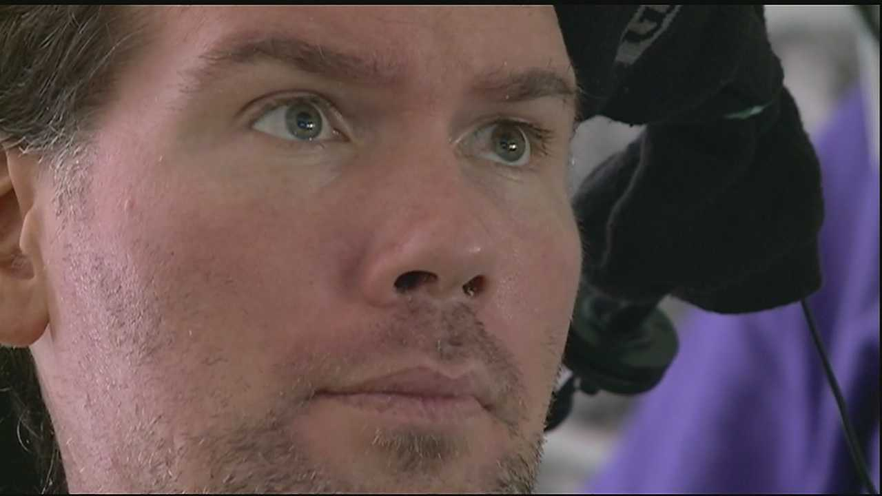 Former Saints player Steve Gleason, now 38 years old, never could have imagined today's reality.