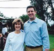 Scott Walker and his mother.
