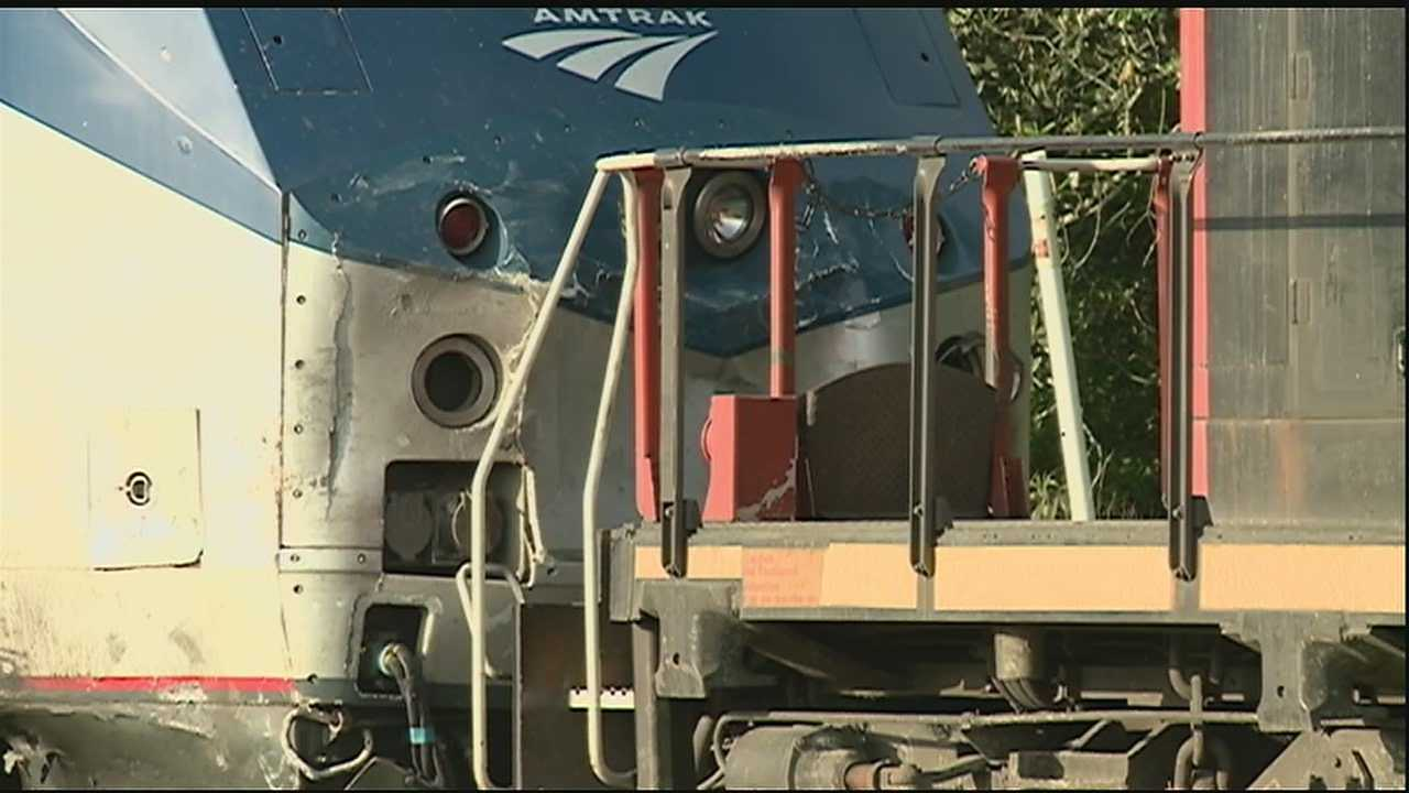 An Amtrak passenger train bound for New Orleans crashed into a vehicle on the Northshore. One person was killed in the collision.