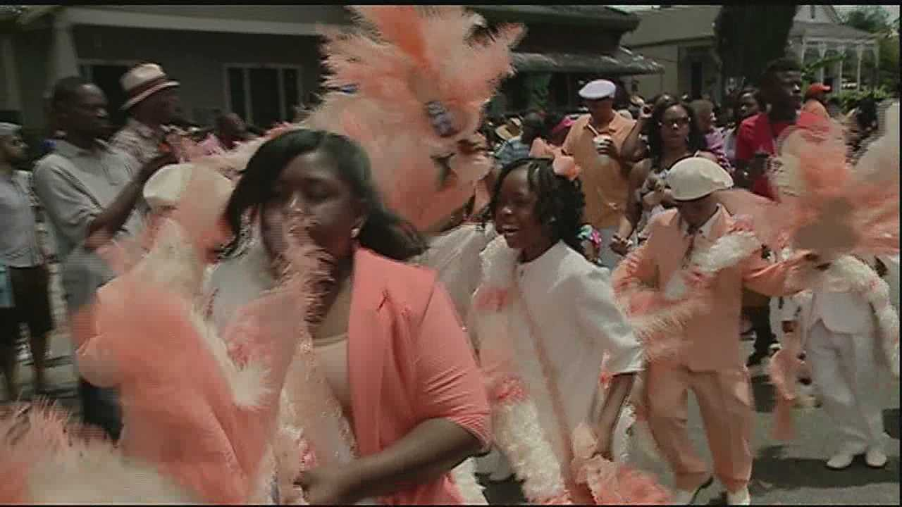 A second line dating back more than a decade hit the streets of the Seventh Ward this weekend.
