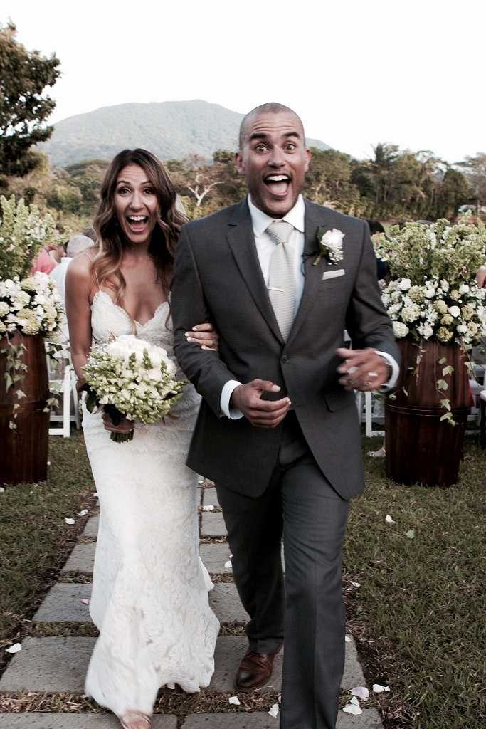 Charles Divins and his wife, Fabiola Divins, shared photos from their wedding in Nicaragua. The happy couple became husband and wife on Jan. 17, 2015.