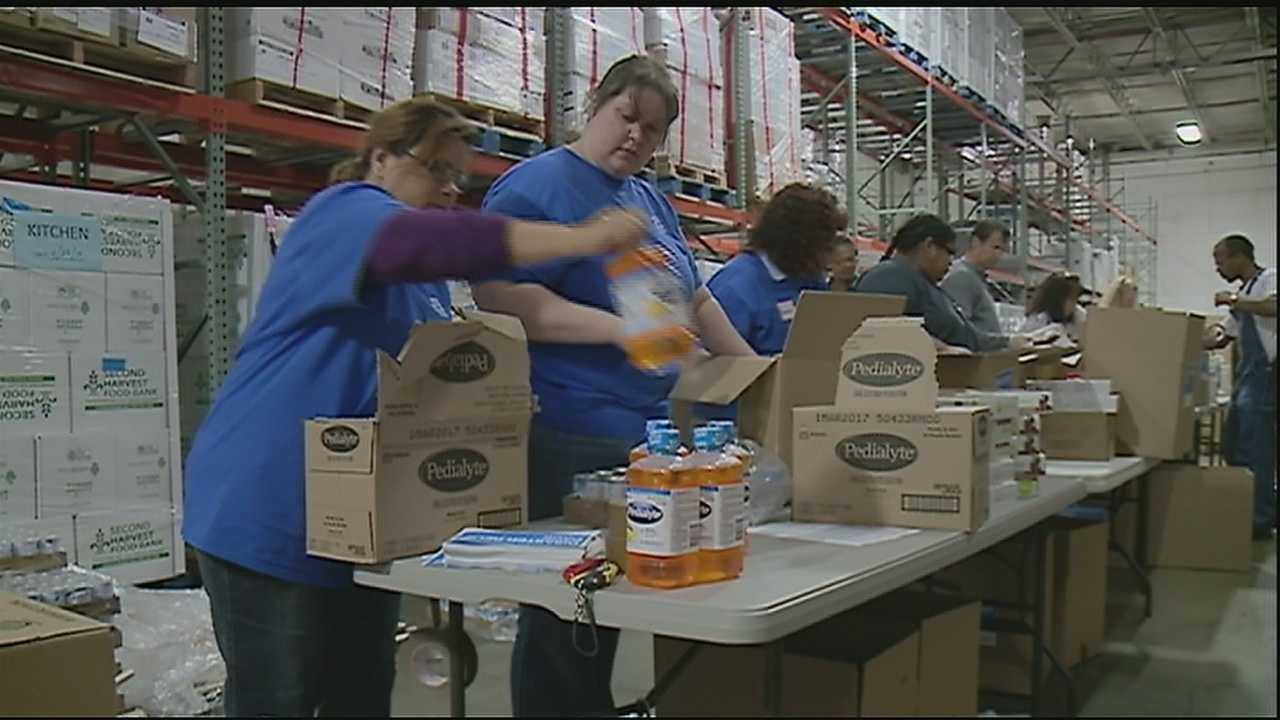 Hunger is an everyday disaster that Second Harvest Food Bank aims to tackle.