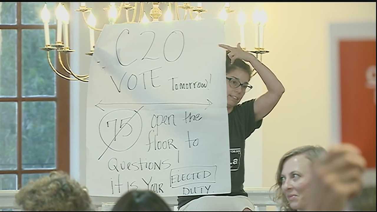 CZO also a controversial topic tonight