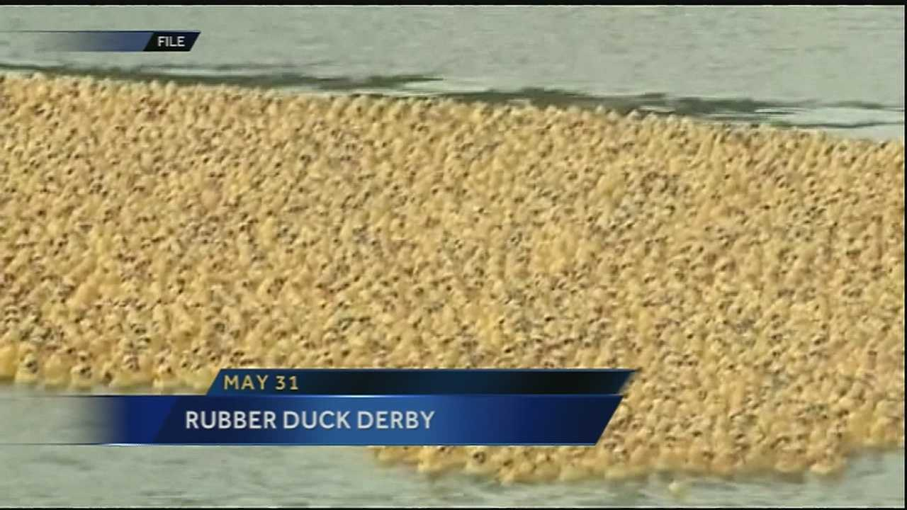 The Rubber Duck Derby presented by Second Harvest Food Bank is moving from Bayou St. John to City Park's big lake. The event will take place Sunday May 31 at 4 p.m.