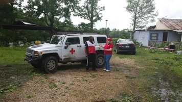 The American Red Cross is providing assistance to residents affected by severe weather in Tangipahoa Parish this weekend.