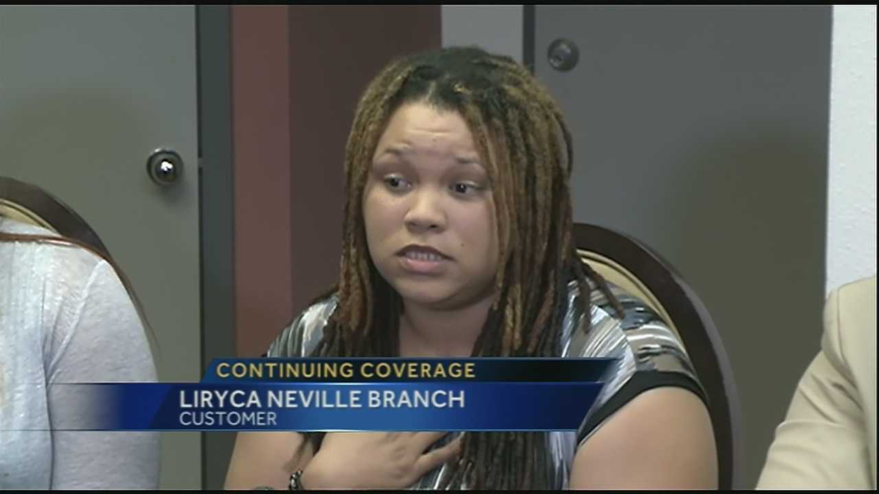 One day after receiving an offensive receipt from a French Quarter restaurant, the customer spoke to the media about the incident.