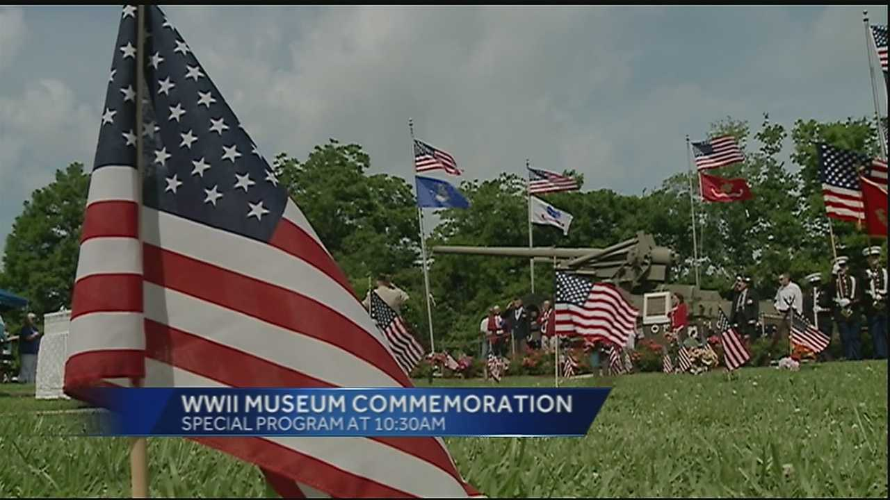 The National WWII Museum in New Orleans will host several events for veterans and their families on Memorial Day.