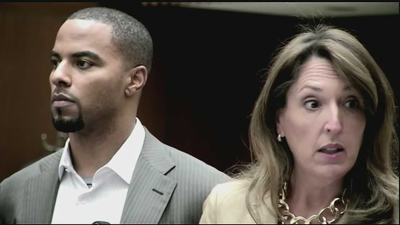 Former Saints player Darren Sharper pleaded guilty during an appearance in federal court Friday morning.