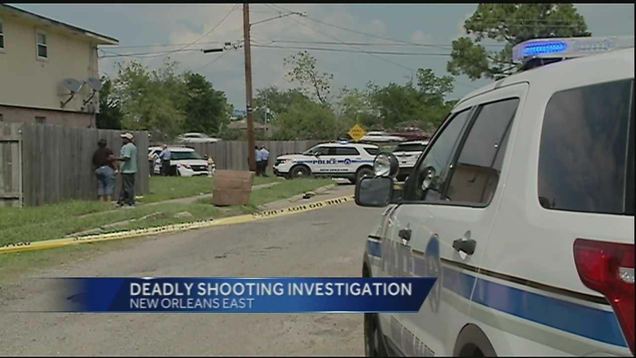 The New Orleans Police Department is investigating a fatal shooting Wednesday in New Orleans East.