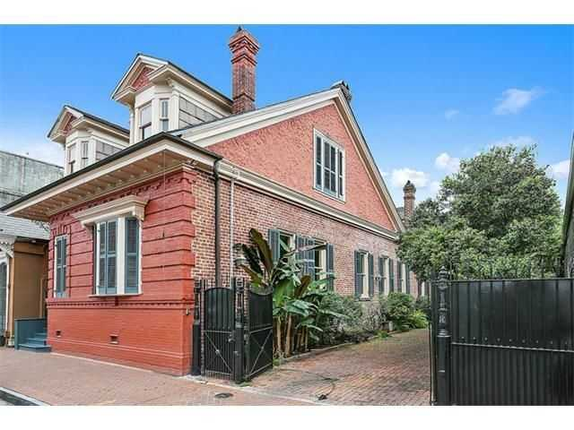 This week's Mansion Monday takes us to the French Quarter, where a two-story home is on the market for $2,475,000. Contact Gardner Realtors for more information at 504-251-6400.
