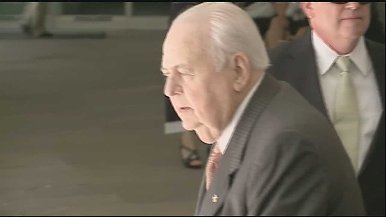 The competency hearing for New Orleans Saints and Pelicans owner Tom Benson ended Friday in Civil District Court.