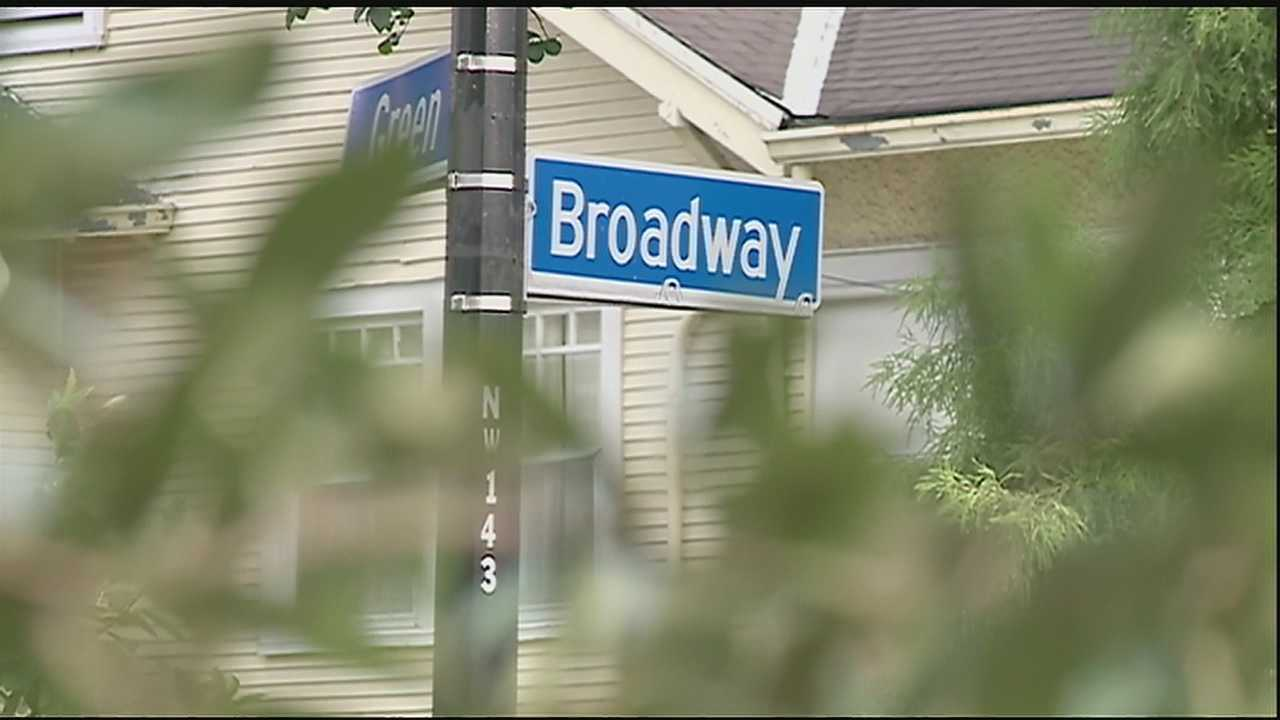 A neighborhood is on alert Uptown after an aggravated burglary.