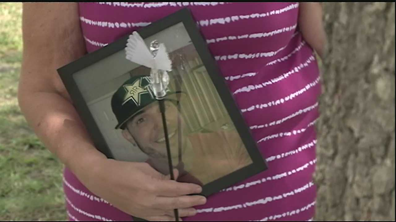 A Slidell couple says their son's gravesite is being desecrated, and they know who is responsible.