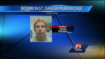 Louisiana officials begin process of extradition for Terry Speaks on Oct. 7, 2014.