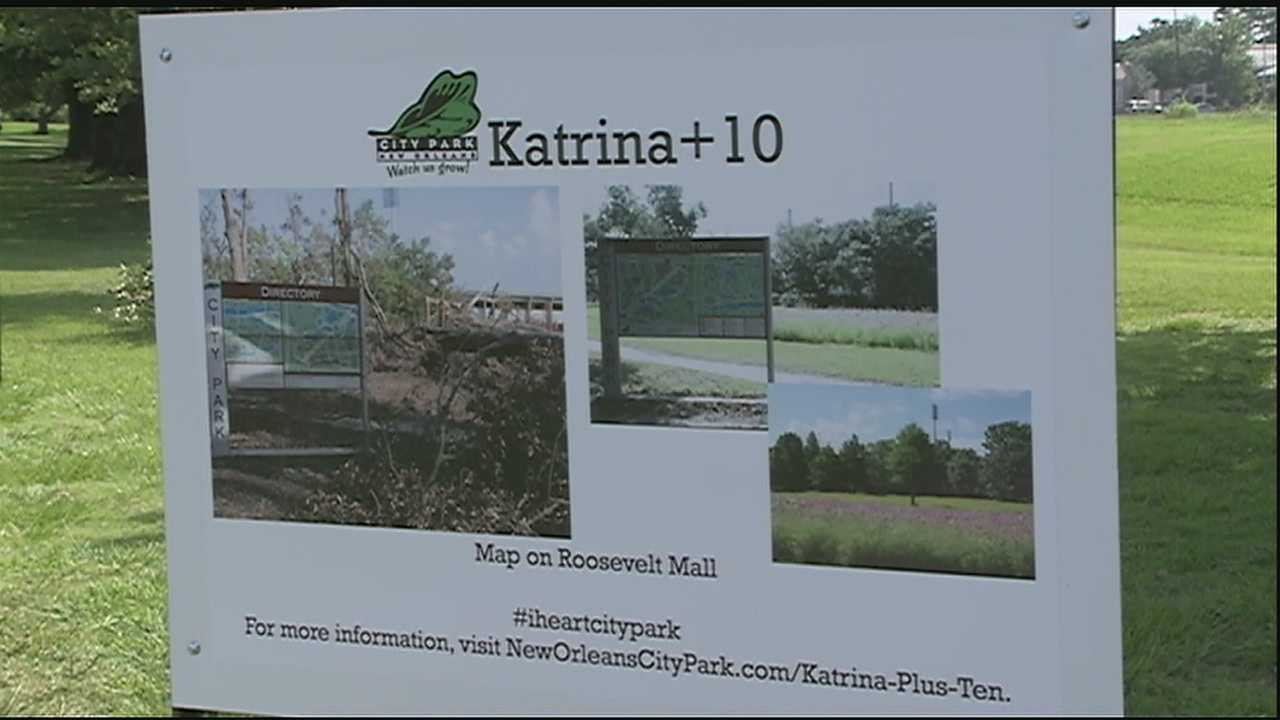 As we approach the 10th anniversary of Hurricane Katrina, City Park officials say there is a whole lot to celebrate.