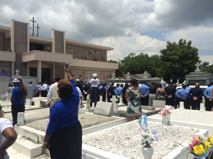 June 27: Daryle Holloway laid to rest at St. Louis Cemetery No. 3.