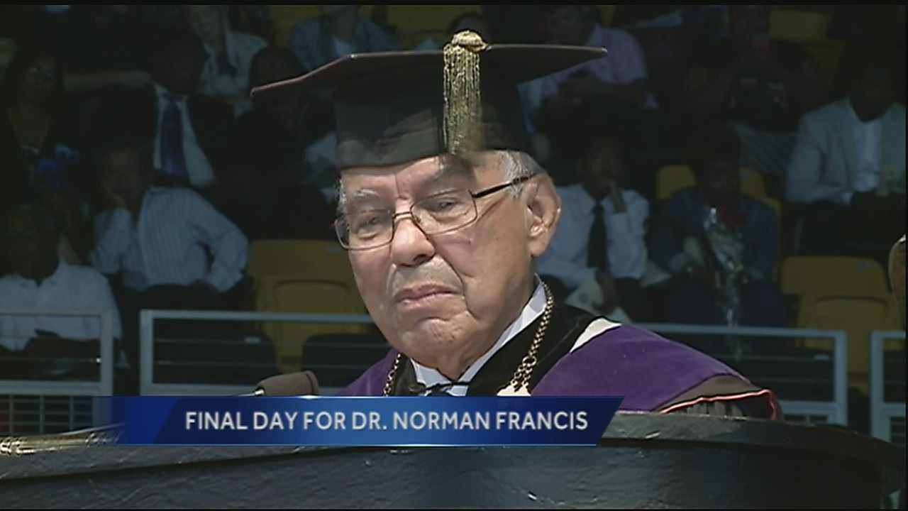 Dr. Norman C. Francis has been named president emeritus by the Xavier University of Louisiana Board of Trustees.