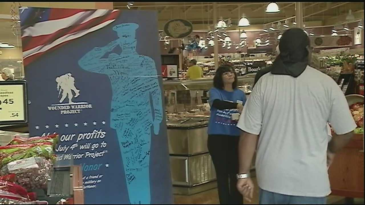 With the big Fourth of July weekend here, everyone's getting ready for food, festivities and fireworks. But no one is preparing like grocery giant Winn-Dixie, which will donate all of its profits from its Fourth of July sales to the Wounded Warrior Project Independence Program.