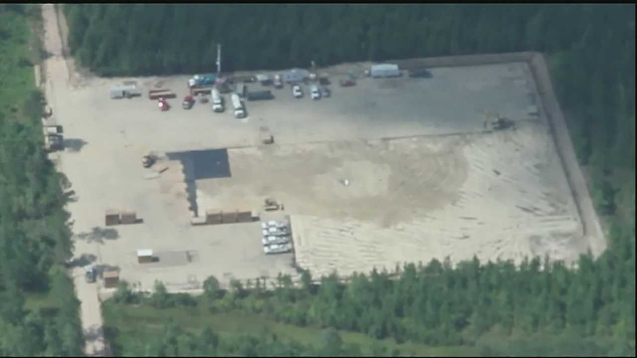 Abita Springs Mayor gets birds-eye view of new fracking site