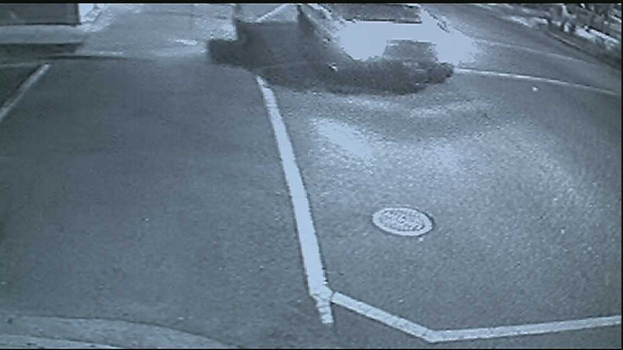 Surveillance video captures hit and run on Magazine Street. The victim is hoping someone can recognize the truck.
