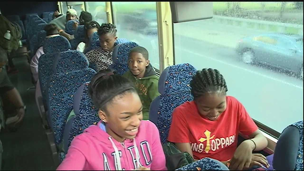A group of youth from across the Crescent City is getting a hands on tour learning about the Civil Rights Movement on Wednesday as part of the sixth annual Civil Rights History Tour.