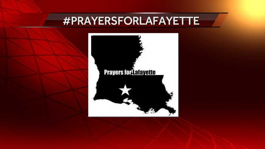 Trending on twitter in support of the victims, their families, and the Lafayette community.