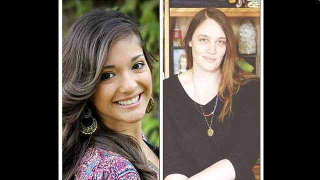 #Lafayette shooting victims: Mayci Breaux, 21 (LEFT) & Jillian Johnson, 33 (RIGHT)