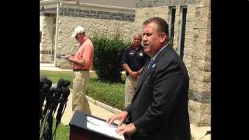 Russell County Sheriff Heath Taylor is giving media Rusty Houser's criminal background.