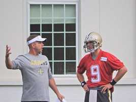 Head coach Sean Payton and quarterback Drew Brees discuss the offense.