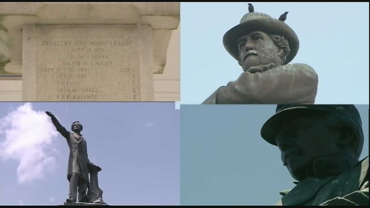 The New Orleans Historic District Landmarks Commission voted to recommend the city remove four Confederate monuments.