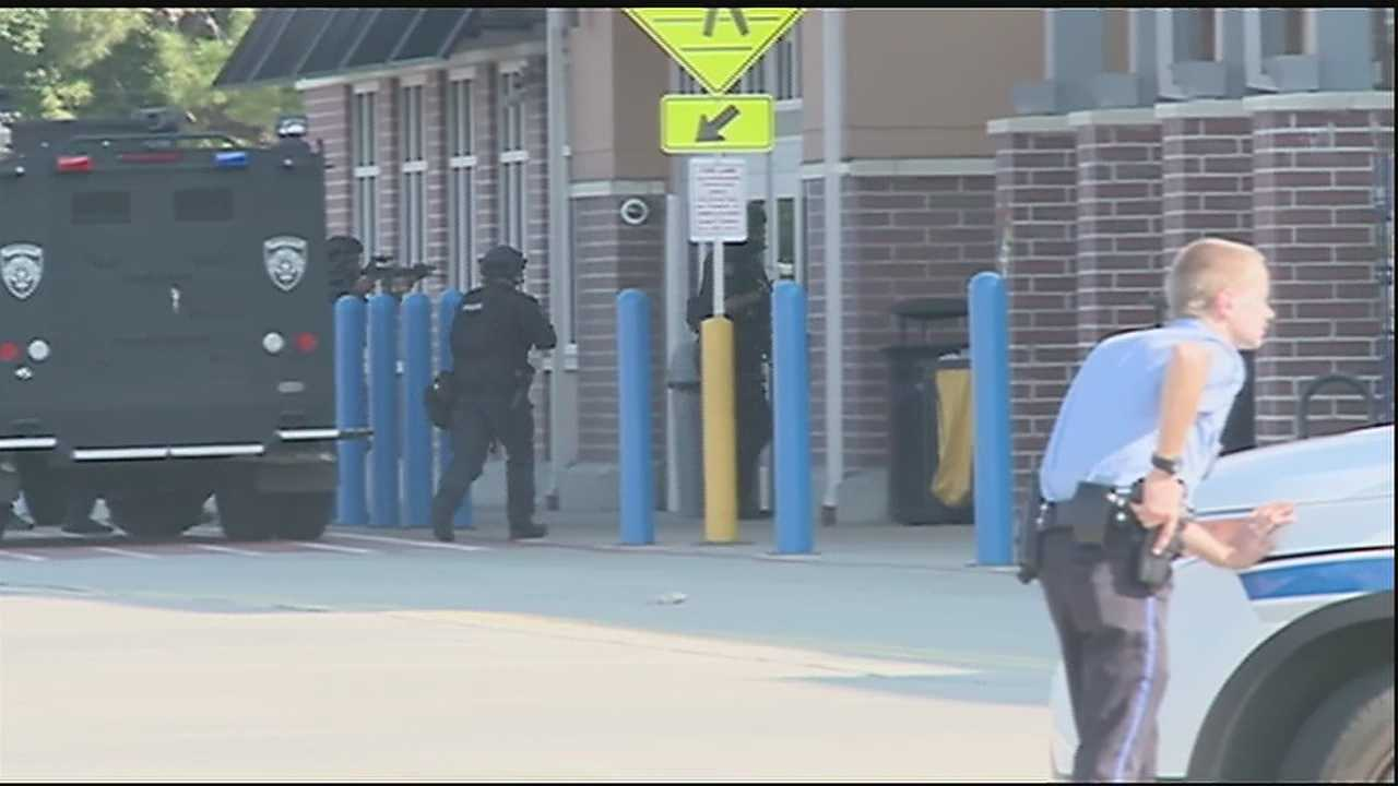 A Walmart in Gentilly reopened its doors Saturday afternoon after a gunman made his way inside, forcing an evacuation that brought in the SWAT team.