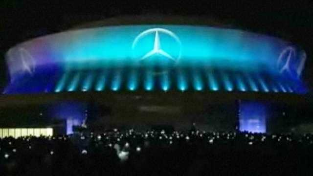 Mercedes benz acquires naming rights to new falcons for Who owns mercedes benz stadium
