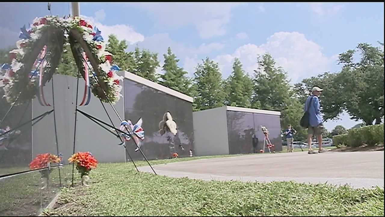 Several officials joined alongside the community Saturday morning for the annual Hurricane Katrina wreath-laying ceremony in Mid-City.
