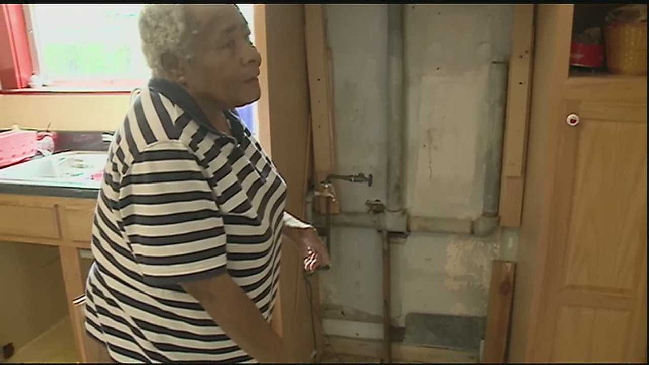 "Beulah Waker spent just a few days away from her Ninth Ward home. When she returned, she discovered someone had ransacked the place and took almost everything ""but the kitchen sink."""