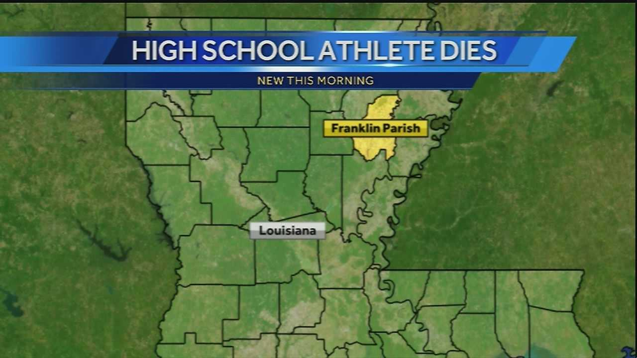 A young athlete is dead after an injury to the neck during a football game in Franklin Parish