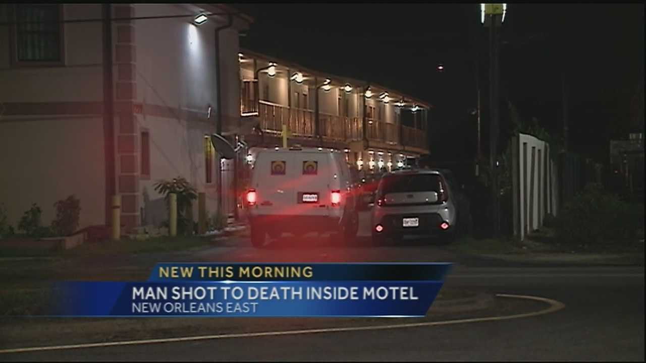 New Orleans police are investigating an overnight deadly shooting that happened inside a New Orleans East motel.