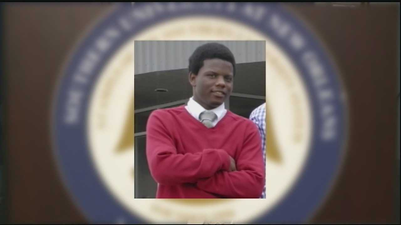 Hundreds gathered over the weekend to lay to rest a Southern University of New Orleans student murdered in August in Jefferson Parish.