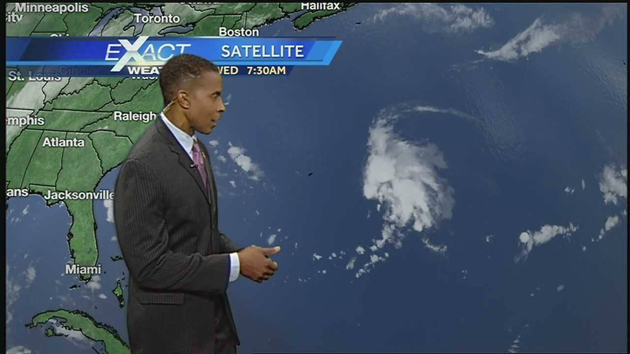 Tropical depression No. 8 formed this week east-southeast of Bermuda, the National Hurricane Center said.