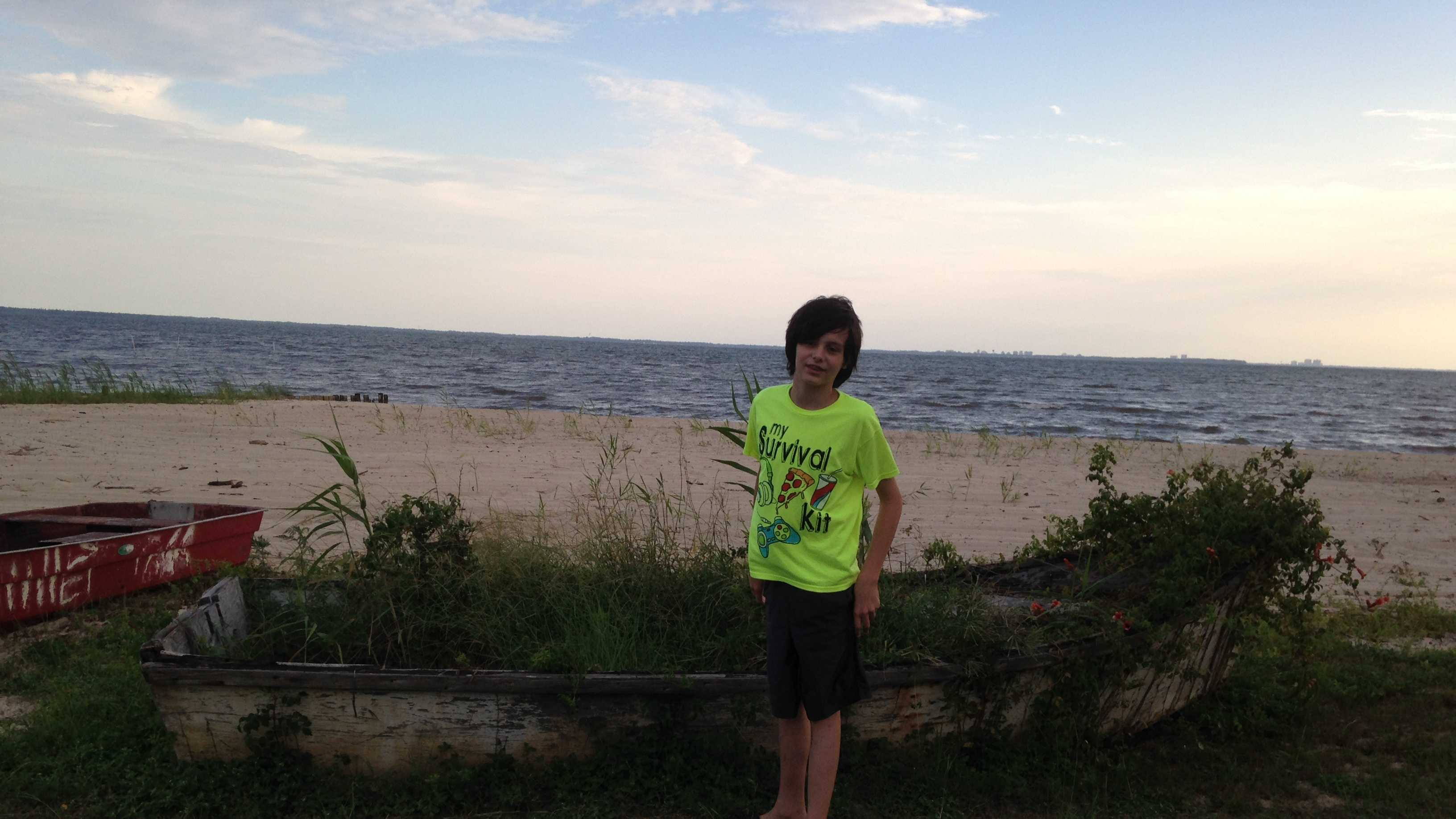 Jefferson Parish authorities searching for John Elrod, a missing 11-year-old boy from Gretna. He was last seen at about 6:30 a.m. Wednesday morning.